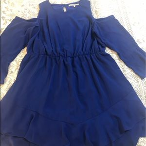 Rachel Roy cold shoulder dress